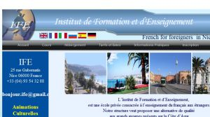 ife nice,institut de formation et d'enseignement,french-in-nice