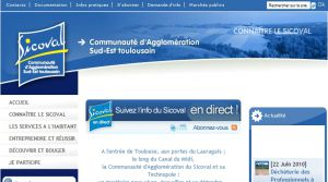 Site officiel : http://www.sicoval.fr