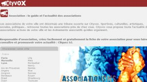 Site officiel : http://www.associations.cityvox.com