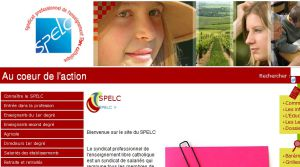 Site officiel : http://www.spelc-fed.fr