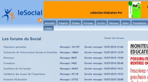 Site officiel : http://forum.lesocial.fr