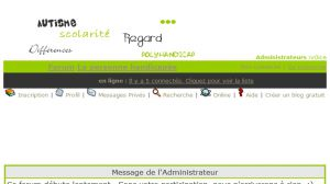Site officiel : http://enseignement-specialise.aceboard.fr
