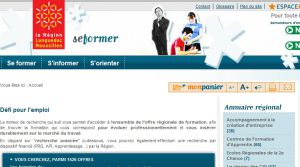 Site officiel : http://www.laregion-seformer.fr
