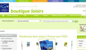 Site officiel : http://loisirs.ign.fr