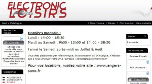 Site officiel : http://www.electronicloisirs.fr