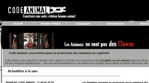 Site officiel : http://www.code-animal.com