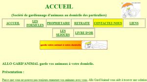 Site Officiel www allogardanimal fr
