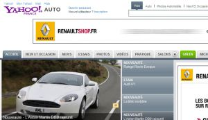Site officiel : http://fr.cars.yahoo.com
