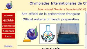 Site officiel : http://www.olympiades-de-chimie.org