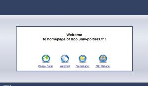 homepage of labo.univ-poitiers.fr